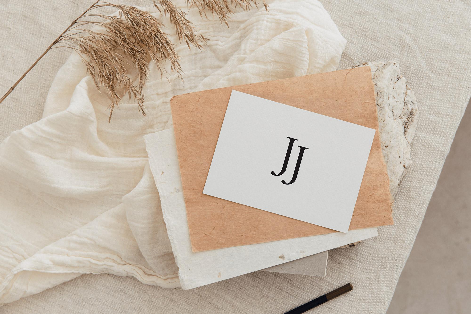 Identidade Visual exclusiva para Jay&Jess Videomaking - Design by Adrielly Sato