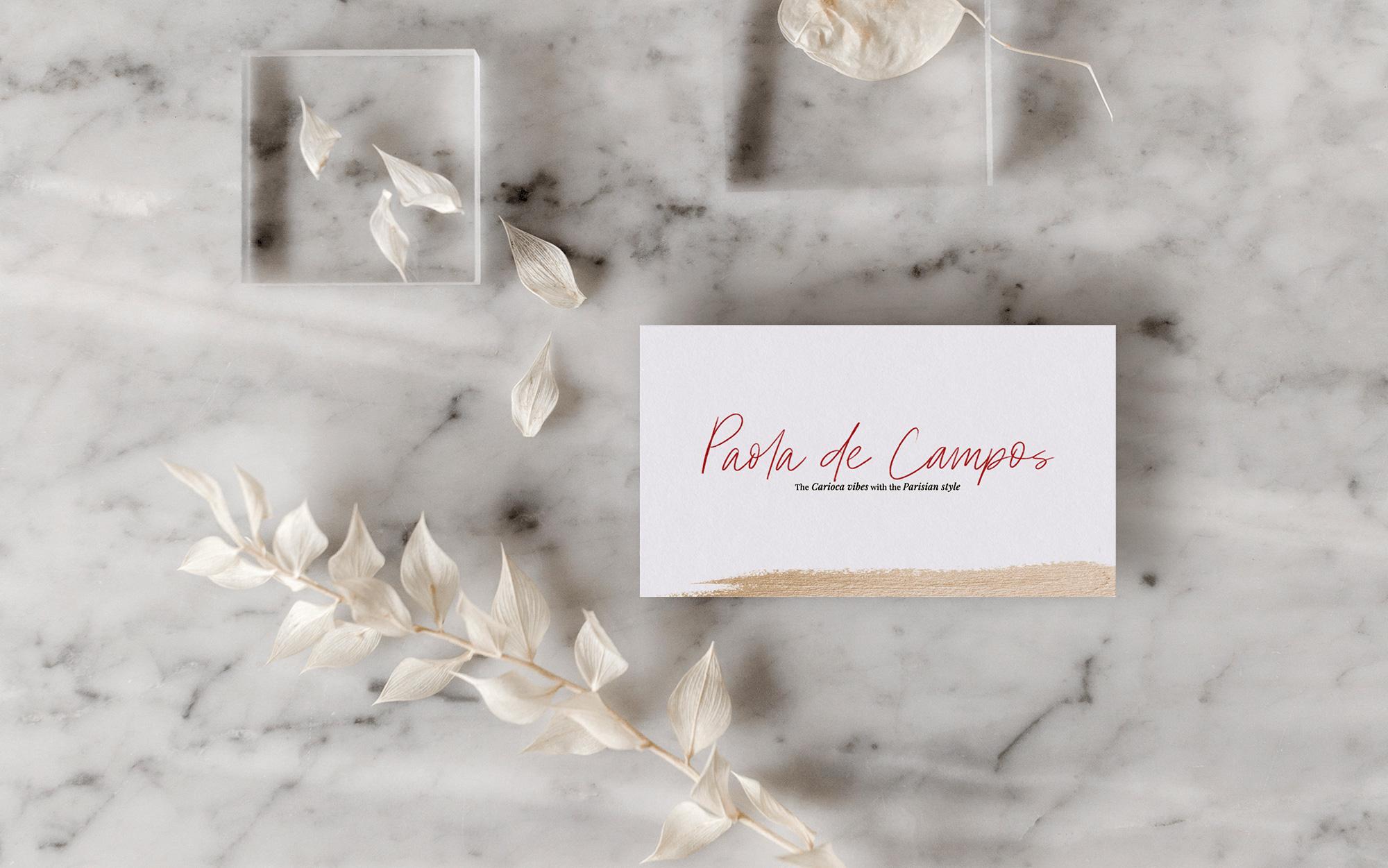 Identidade Visual & Blog Layout exclusivos para Paola de Campos - Design by Adrielly Sato