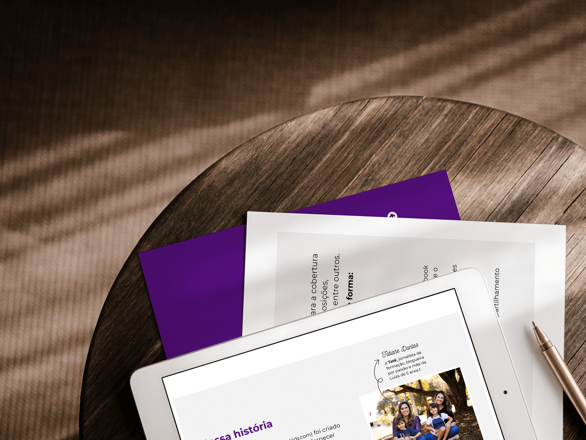 Identidade Visual & Website Layout exclusivos para Passeios Kids - Design by Adrielly Sato
